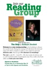 Reading Group - The Help by Kathryn Stockett