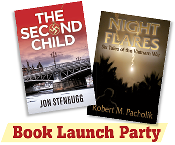 Book launch The Second Child and Night Flares