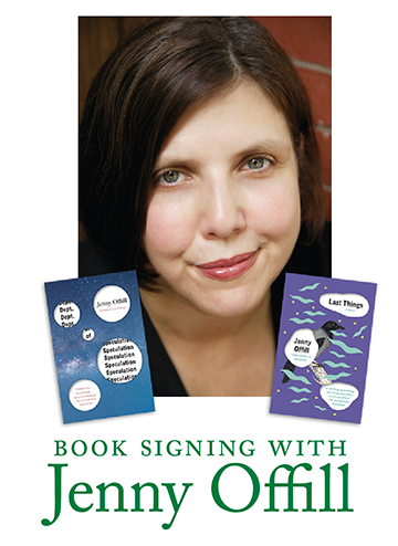 Book signing with Jenny Offill