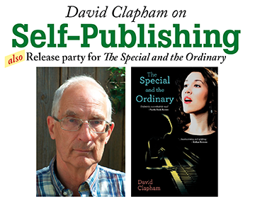 David Clapham on Self-Publishing - Release Party