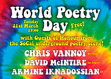 World Poetry Day 21st March