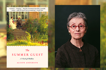 Author reading: The Summer Guest – Alison Anderson