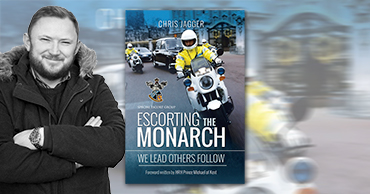 "Author visit ""Escorting the Monarch"" - Chris Jagger"