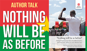 Author Talk: Nothing will be as before