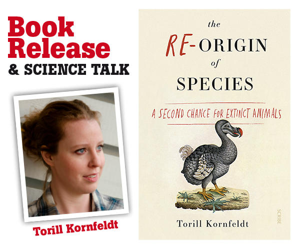 Book release & Talk: The Re-Origin of Species – Torill Kornfeldt