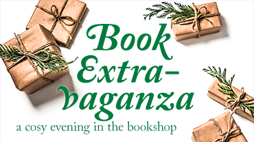 Book Extravaganza – cosy night at the bookshop