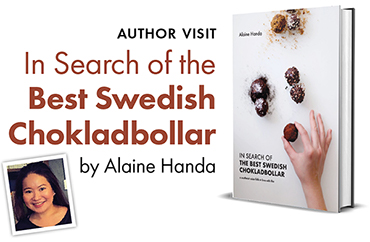 Author Visit: In Search of the Best Swedish Chokladbollar
