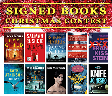 Christmas Signed Book Contest 2019