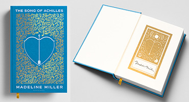 """Signed anniversary copy of """"The Song of Achilles"""""""