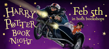 Harry Potter Book Night Thursday February 5th